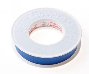 Coroplast 302 tape blauw 19mm x 25 meter