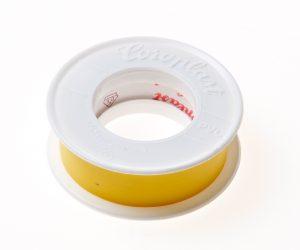 Coroplast 302 tape geel 15mm x 25 meter