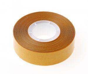 Dubbelzijdige tape transparant 19mm x 10 meter
