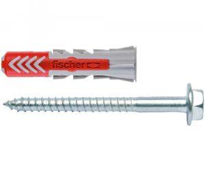 Fischer plug Duopower 10x50mm met schroef