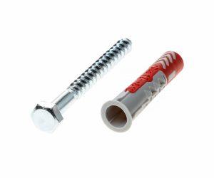 Fischer plug Duopower 12x60mm met schroef