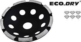 Komsteen ECO.DRY enkel diameter 125 x asgat 22.2mm