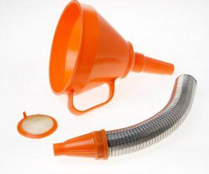 Trechter inclusief flexibele slang PVC160mm 02676