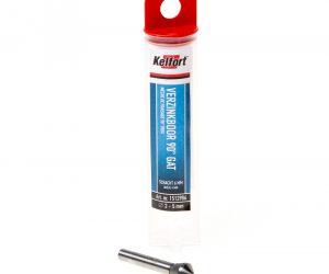 Verzinkboor HSS schuin gat vreesdiameter 2-5 x schachtdiameter 6mm